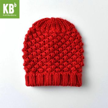 DCCKWQA SALE KBB Multicolor Christmas Seasonal Colorful Children Women Men Knit Warm Stylish Winter Hat Beanie