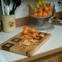 Cutting Board Mother's Day Gift End Grain by BillsWoodenPleasures