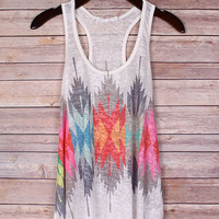 Colorful Tribal Tank Top