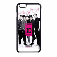 One Direction Where We Are iPhone 6 Case
