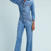 Citizens of Humanity Farrah '70s Denim Jumpsuit