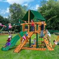 Gorilla Playsets Frontier Supreme CG Wooden Swing Set