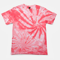 10Deep | Tops | SP15 Triple Stack Tee - Red Tie-Dye