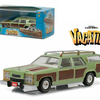 "1979 Family Truckster Wagon Queen ""National Lampoon's Vacation"" (1983) Movie 1-43 Diecast Model Car by Greenlight"