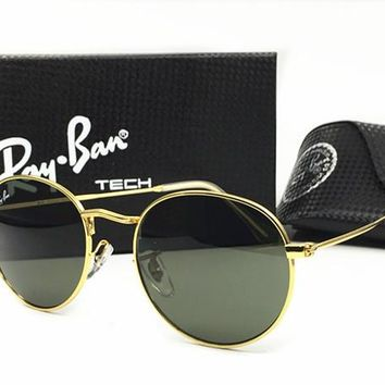 Ray-Ban sunglass AA Classic Aviator Sunglasses, Polarized, 100% UV protection [2974244913]