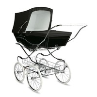 Silver Cross Kensington Hand-Crafted Pram Stroller Pre-Order Black