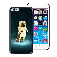 """iPhone 6 Case,Y&M Case, The Series of Cute Pug Dog Lightweight Phone Cases for iPhone 6 (4.7"""") -PC/Black"""