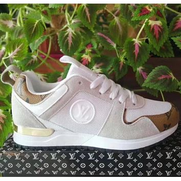 LV Fashion sports and leisure shoes