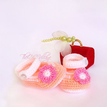 4b4cd9f3feaf1 Best Crochet Baby Ballerina Shoes Products on Wanelo
