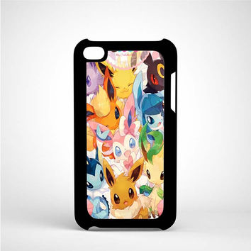 eeveelutions iPod 4 Case