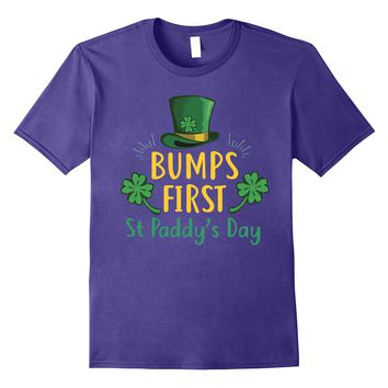 Bumps First St patrick's day T-shirt