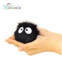 High Quality 1 Piece Dust Spirit My Neighbor Totoro Fairydust Pendant Plush Toy Doll with Ring Soft Stuffed Doll