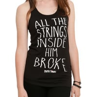 Paper Towns Strings Broke Girls Tank Top