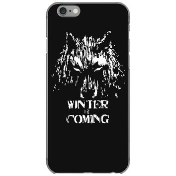 game of thrones direwolf winter is coming iPhone 6/6s Case