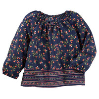 Drapey Floral Top