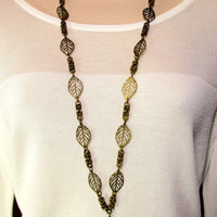 Lanyard - Handcrafted Byzantine Chain and Leaves