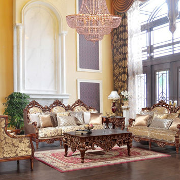 2 Piece Traditional HD-520 Living Room Set