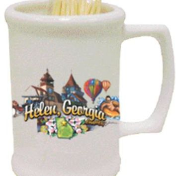 helen georgia helen toothpick holder elements Case of 144