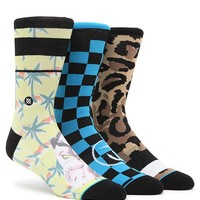 Stance Murdock Three Pack Crew Socks - Mens Socks - Multi - One