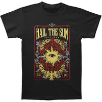 Hail The Sun Men's  Sun Crest T-shirt Black