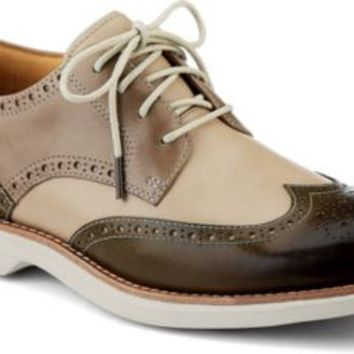 Sperry Top-Sider Gold Cup Bellingham ASV Wingtip Oxford Brown/Ivory/TaupeLeather, Size 10M  Men's Shoes