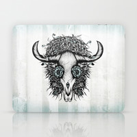 The Spirit Of the Buffalo Laptop & iPad Skin by LouJah
