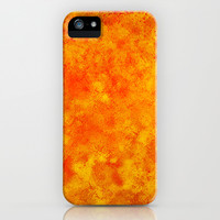 Hollowfield iPhone & iPod Case by Gréta Thórsdóttir  #lava #galaxy #lavafield #hole #hollow #coral #hot #iphone