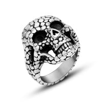Gift Stylish Jewelry New Arrival Shiny Classics Punk Fashion Strong Character Titanium Accessory Ring [6544849283]
