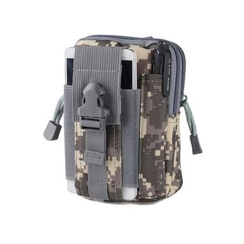Outdoor Nature Men's Outdoor Camping Bags,Tactical Molle Backpacks,Pouch Belt Bag,Military Waist Backpack,Soft Sport Running Pouch Travel Bags
