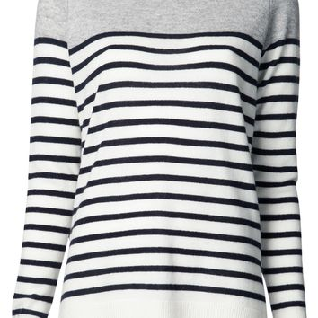 Vince Cashmere Striped Sweater