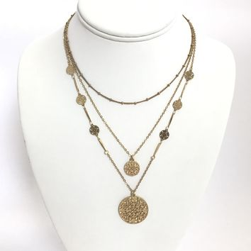 Find the Treasure Gold Layered Necklace