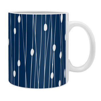 Heather Dutton Navy Entangled Coffee Mug