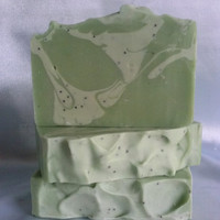 Green Tea & Aloe w/ Yogurt Soap, Homemade Soap, Handmade Soap, Facial Soap, Natural Soap, Acne Soap, Moisturizing Soap, Gift Ideas