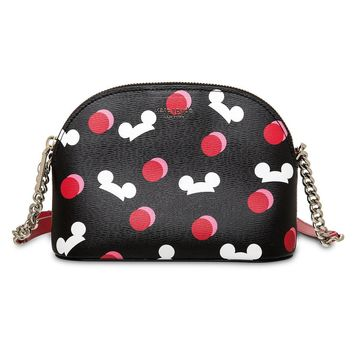 Disney Mickey Mouse Ear Hat Crossbody Black by Kate Spade New York New with Tag