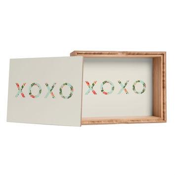 Allyson Johnson Floral XOXO Jewelry Box
