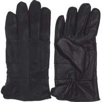 Structure Black Leather Driving Dress Gloves 3M Thinsulate Insulation Mens Warm