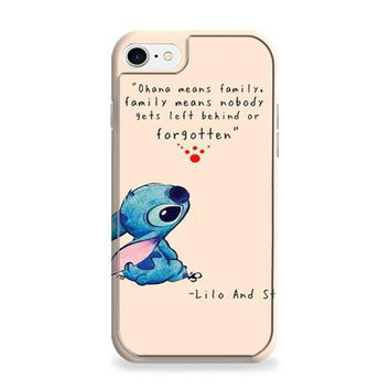Lilo And Stitch ohana tan iPhone 6 | iPhone 6S Case
