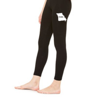 Missouri Home White - LEGGING