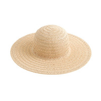 J.Crew Womens Airy Summer Straw Hat