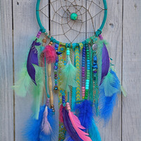 Hues of Blues Dream Catcher