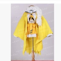 Pokemon Jolteon Gaun Cosplay Costume