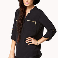 Essential Crepe Woven Top