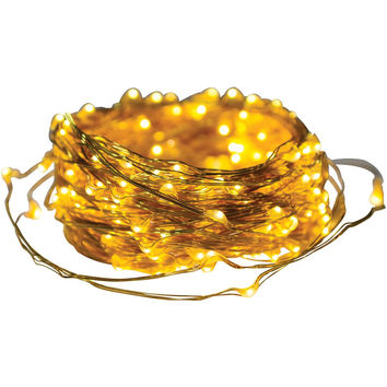 Axis Metallic Gold Led Micro-dot String Lights (41ft)