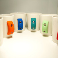 Rock Climbing Mug Set of 4