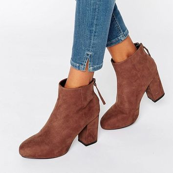 ASOS ELLIJAH Heeled Ankle Boots at asos.com