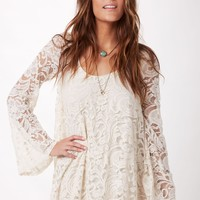 FANNIE FLOW LACE DRESS