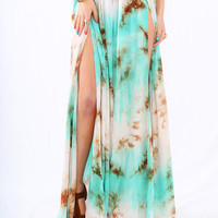 Mixology - Gypsy Junkies To Dye For Maxi Skirt
