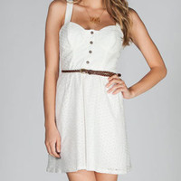 FULL TILT Crochet Overlay Dress 214332150 | Short Dresses | Tillys.com