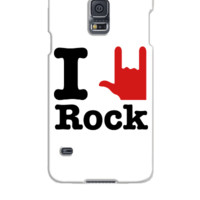 i love rock - Samsung Galaxy S5 Case