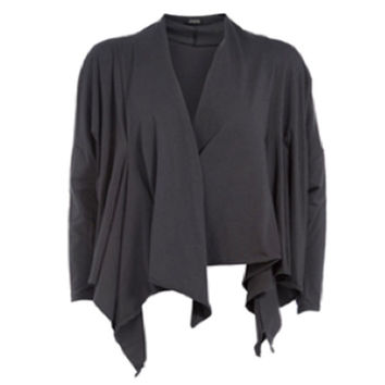 Boris Cotton Handkerchief-hem Cardigan
